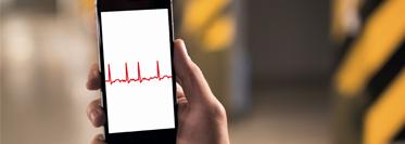 Smartphone monitoring detects atrial fibrillation